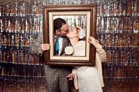 Troy + Dana // photo booth!